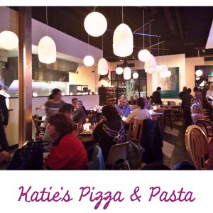 Pearl #30: Gluten-free at Katie's Pizza and Pasta